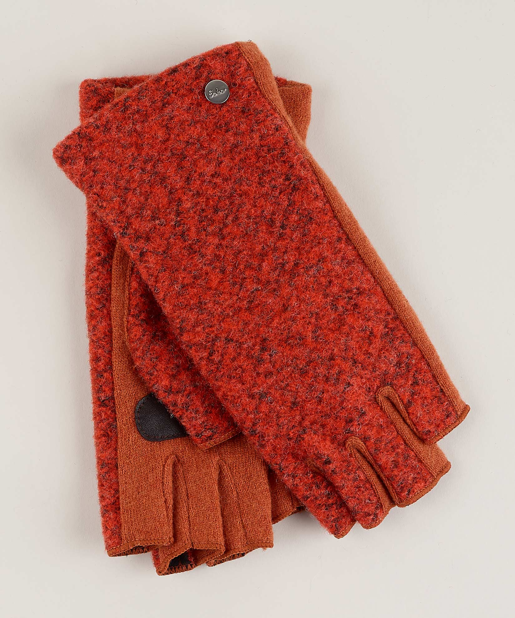 Paprika - Boucle Fingerless Glove