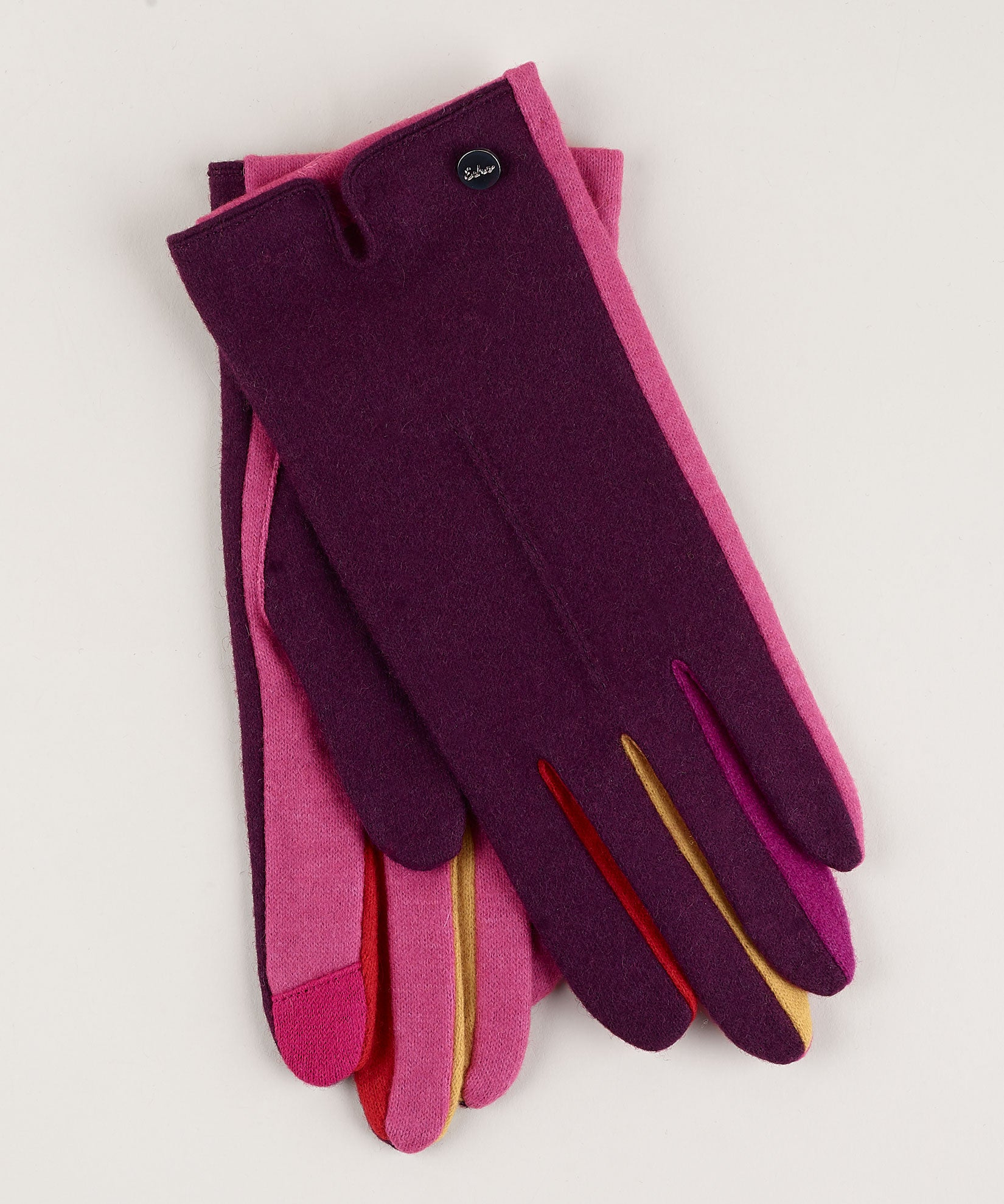 Pickled Beet - Colorblock Fourchette Glove