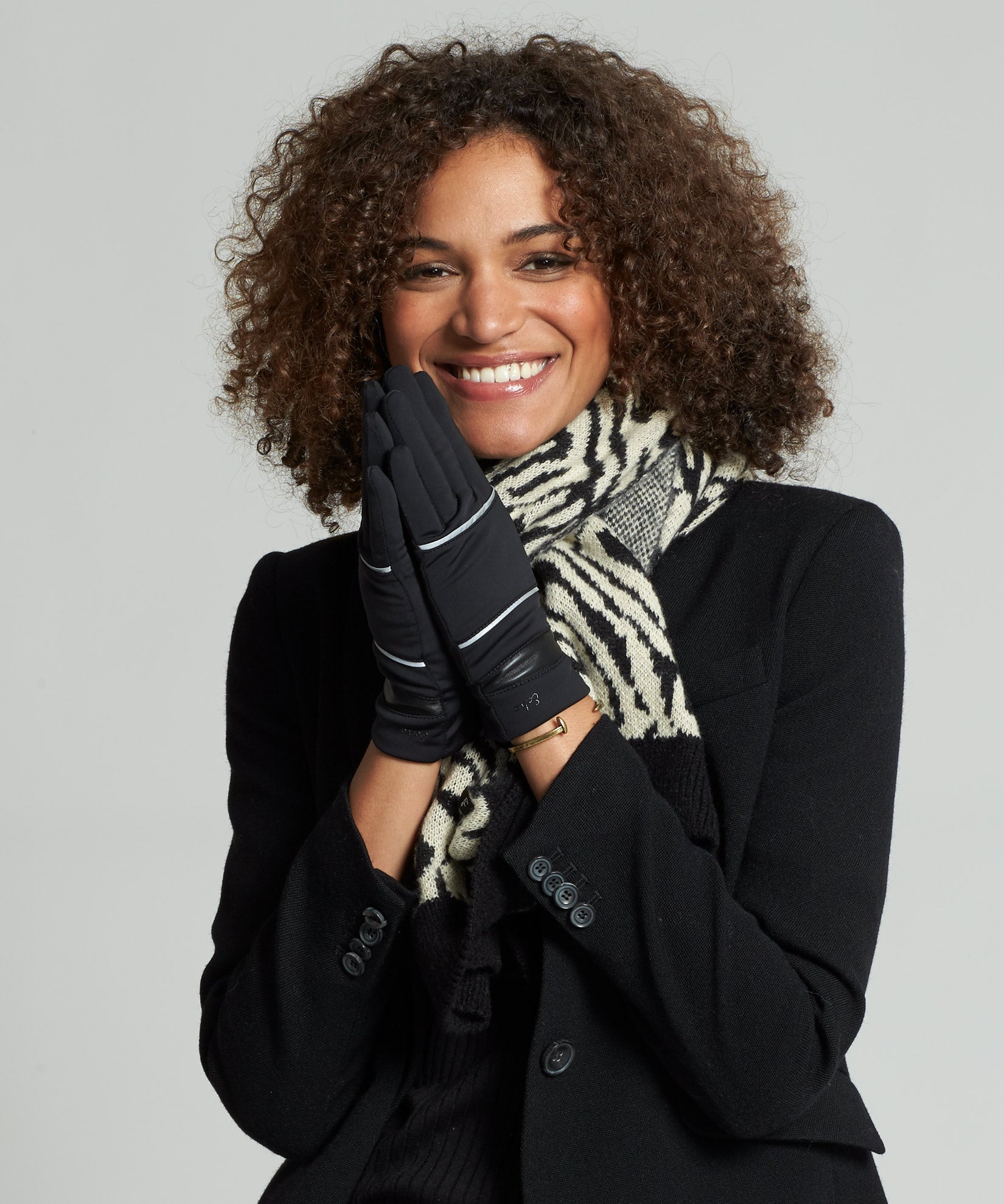 Black - Reflective Superfit Glove