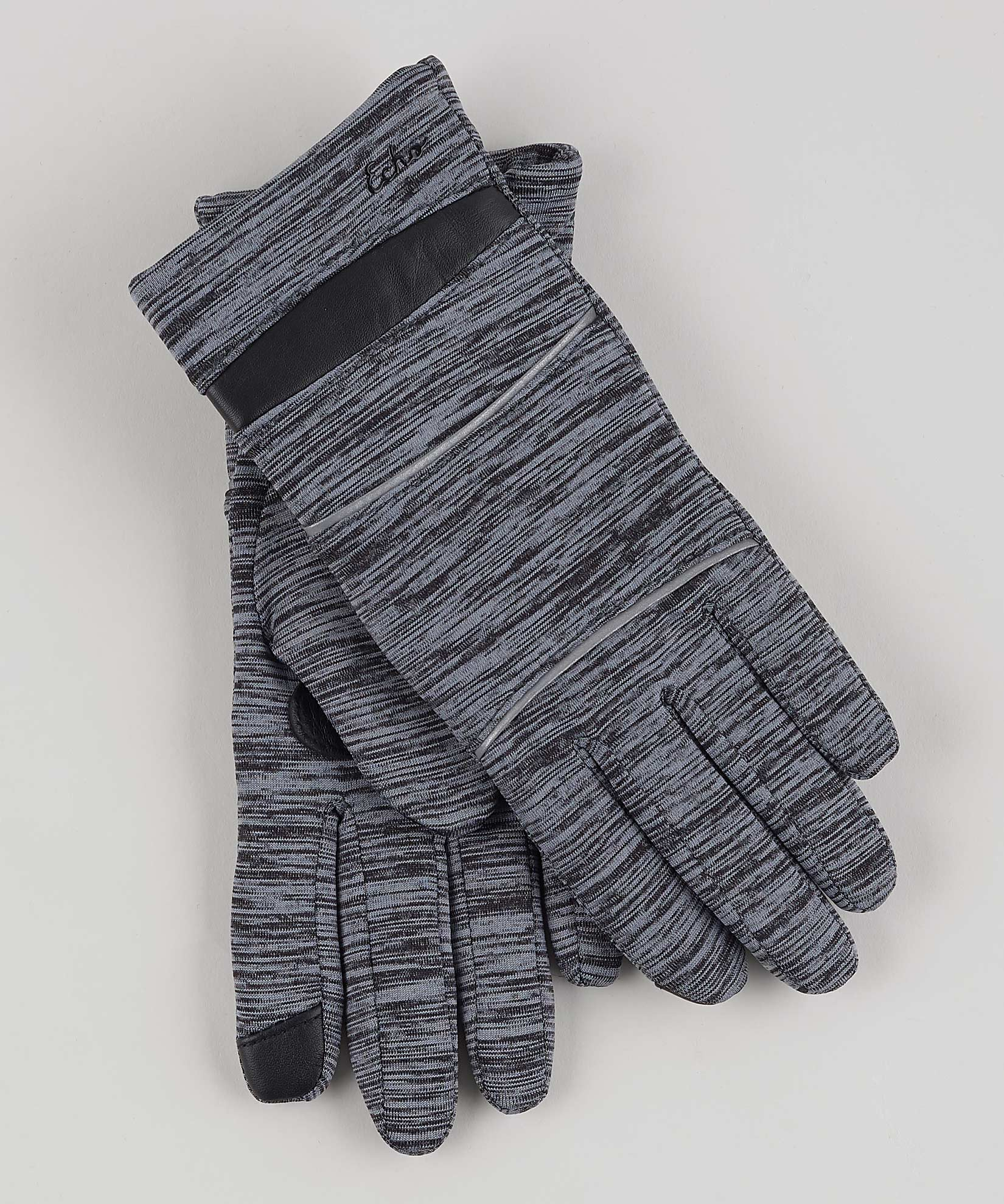 Heather Grey - Reflective Superfit Glove