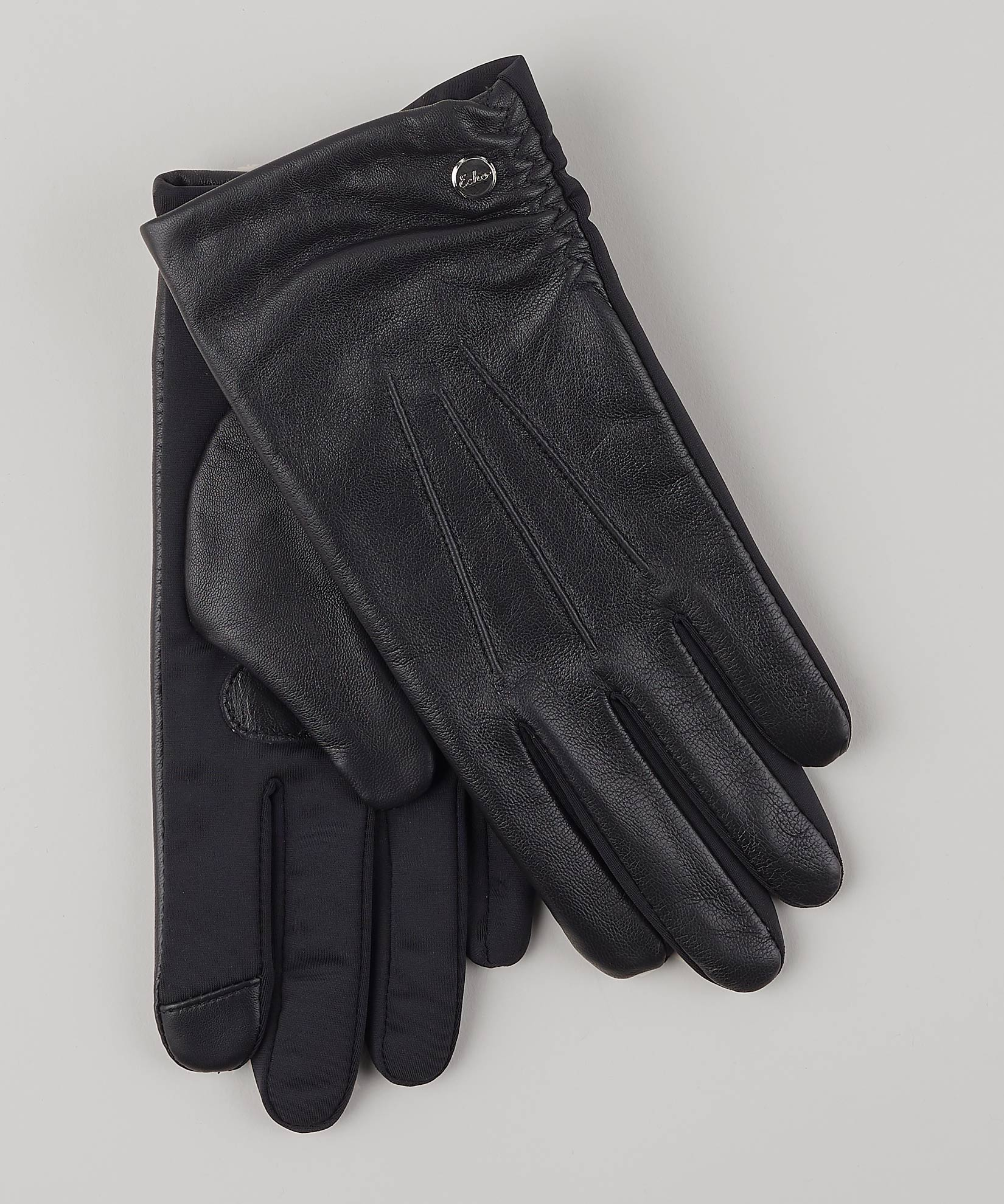 Black - Classic Leather Superfit Glove