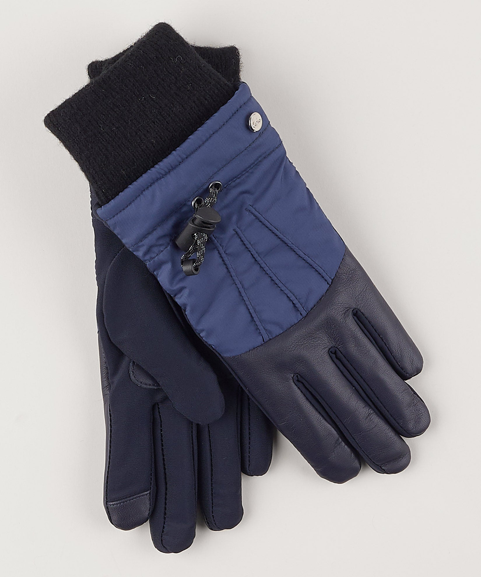 Navy - Warmest Superfit Drawstring Glove