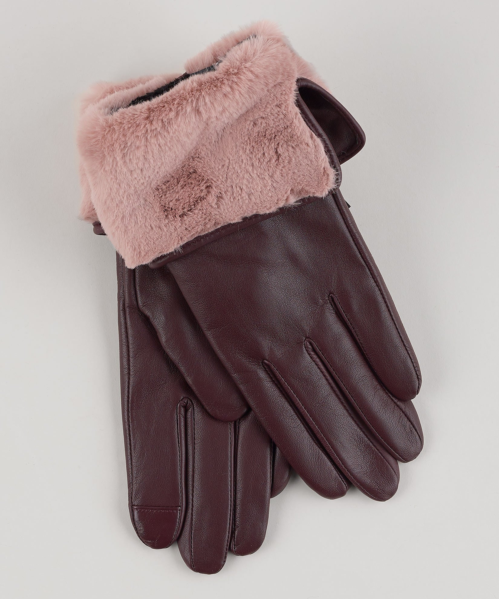 Fig - Faux Fur Cuff Glove
