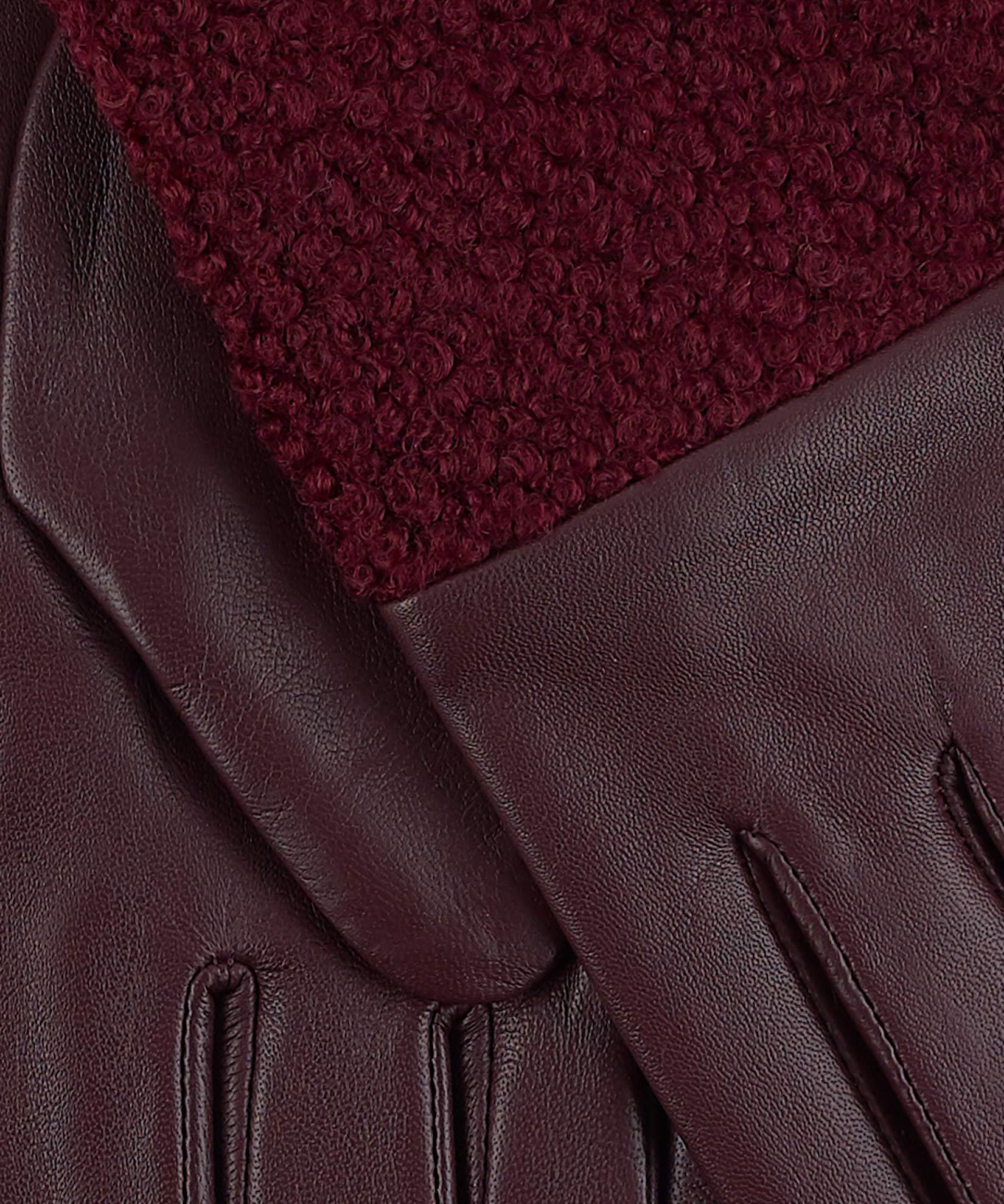 Fig - Faux Shearling Glove