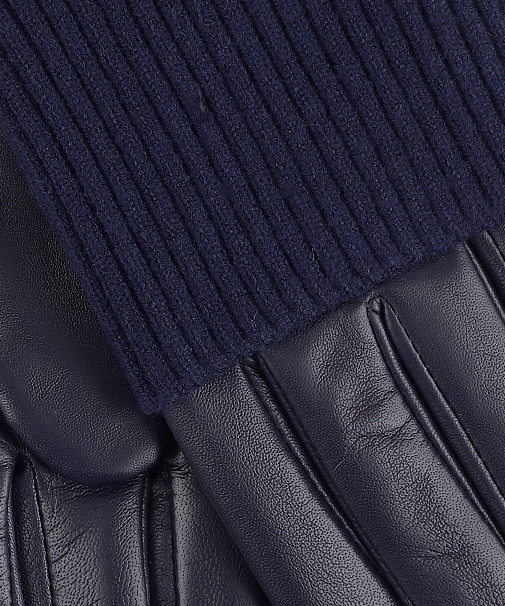 Navy - Fold Down Cuff Glove