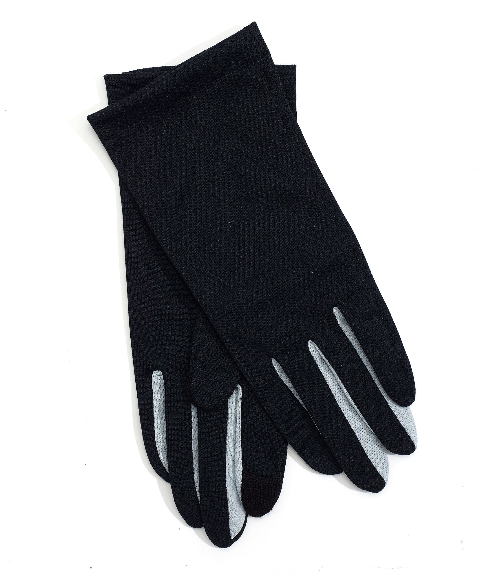 Black - Washable Colorblock Errand Glove with Echo Touch®