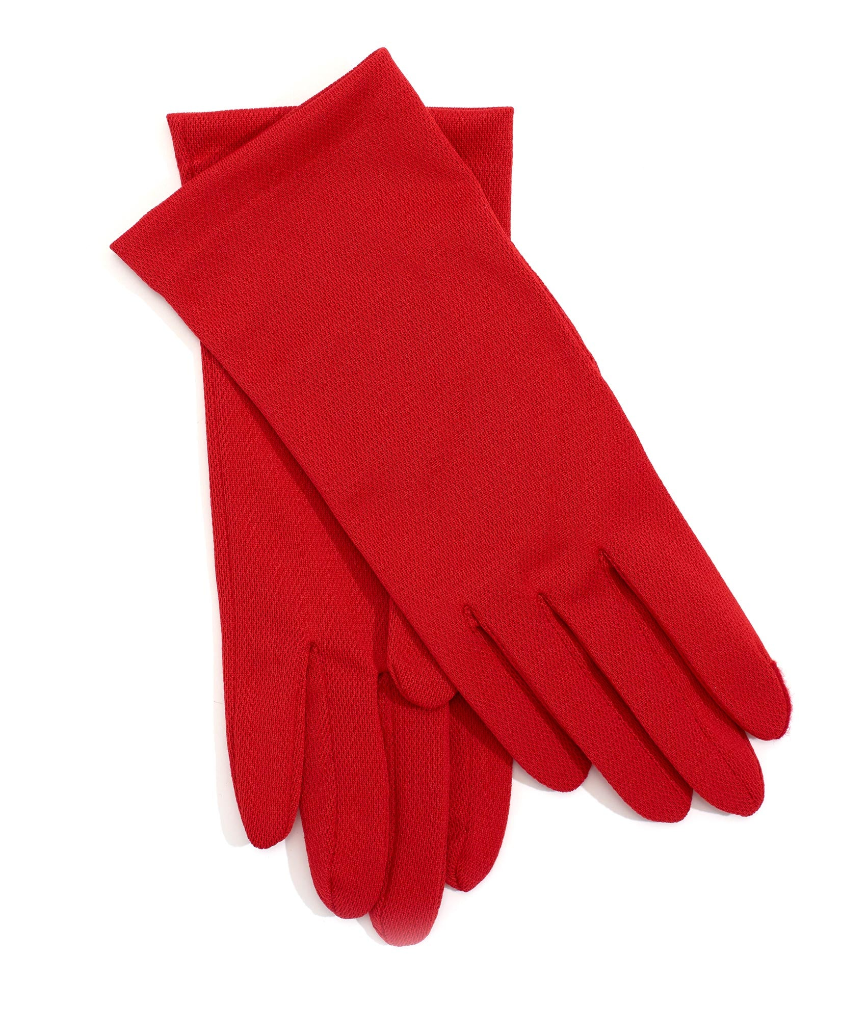 Red - Washable Solid Errand Glove