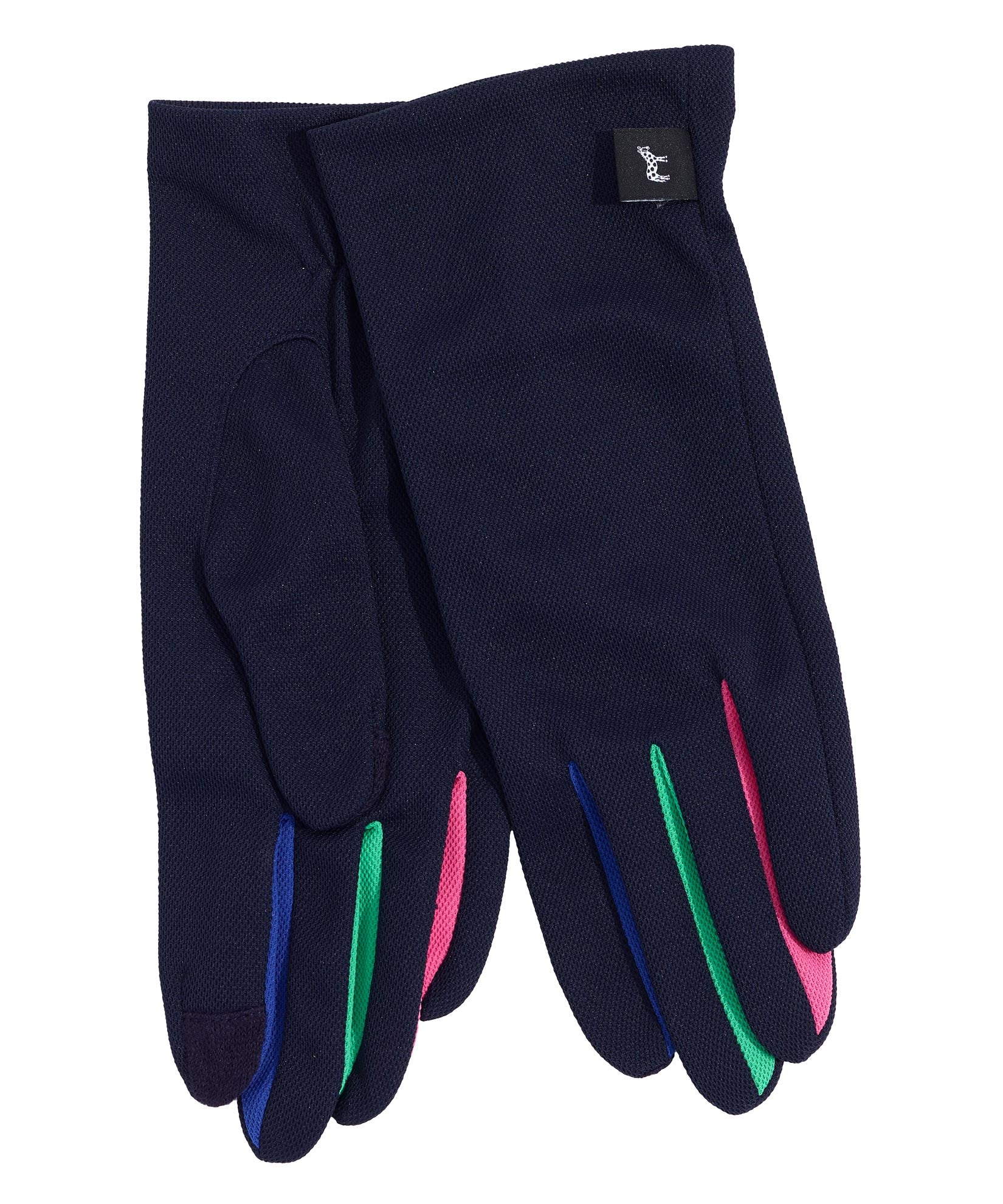Midnight - UPF50 Colorblock Washable Errand Glove with Echo Touch®