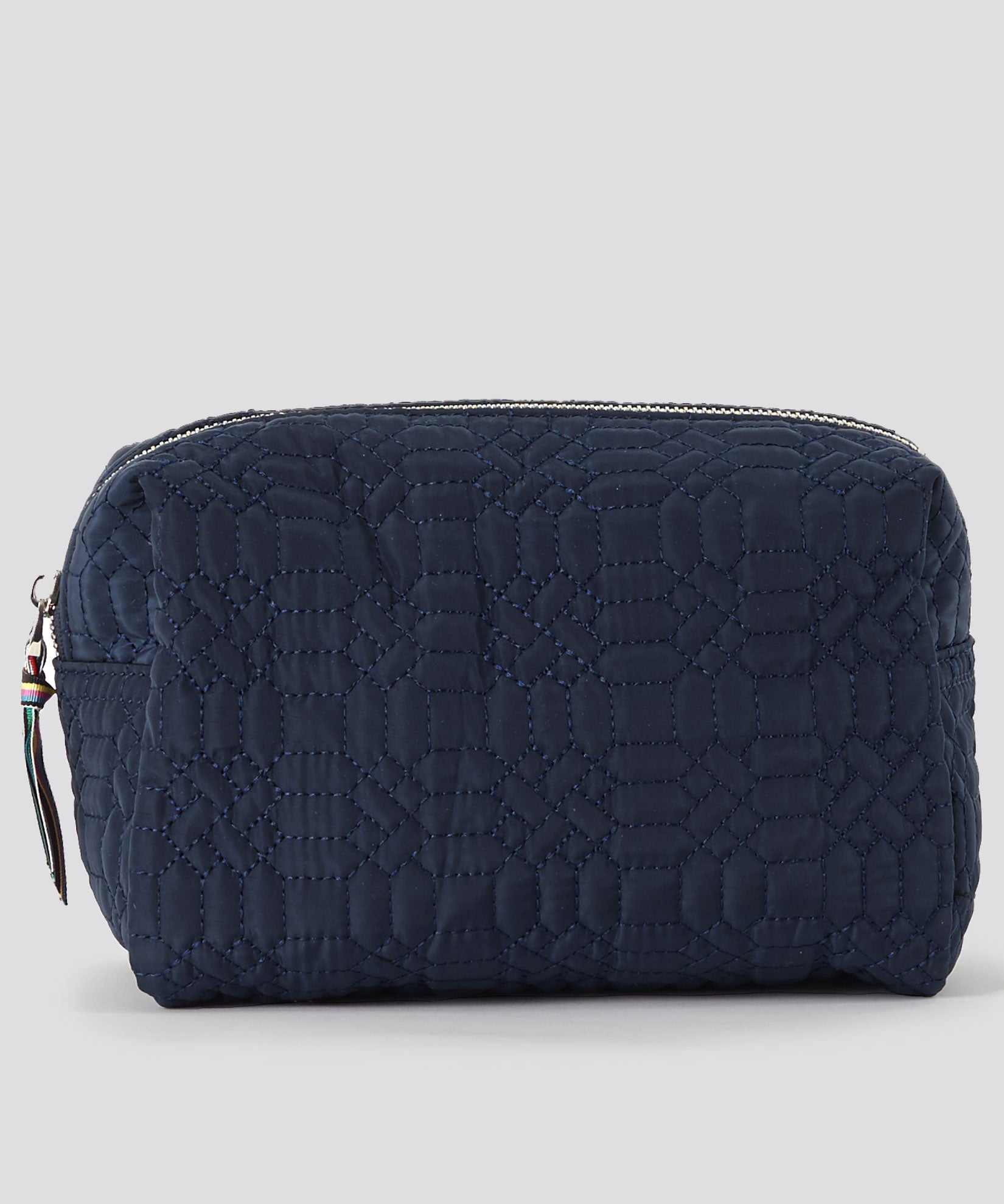 American Navy - Quilted Corsica Cosmetic