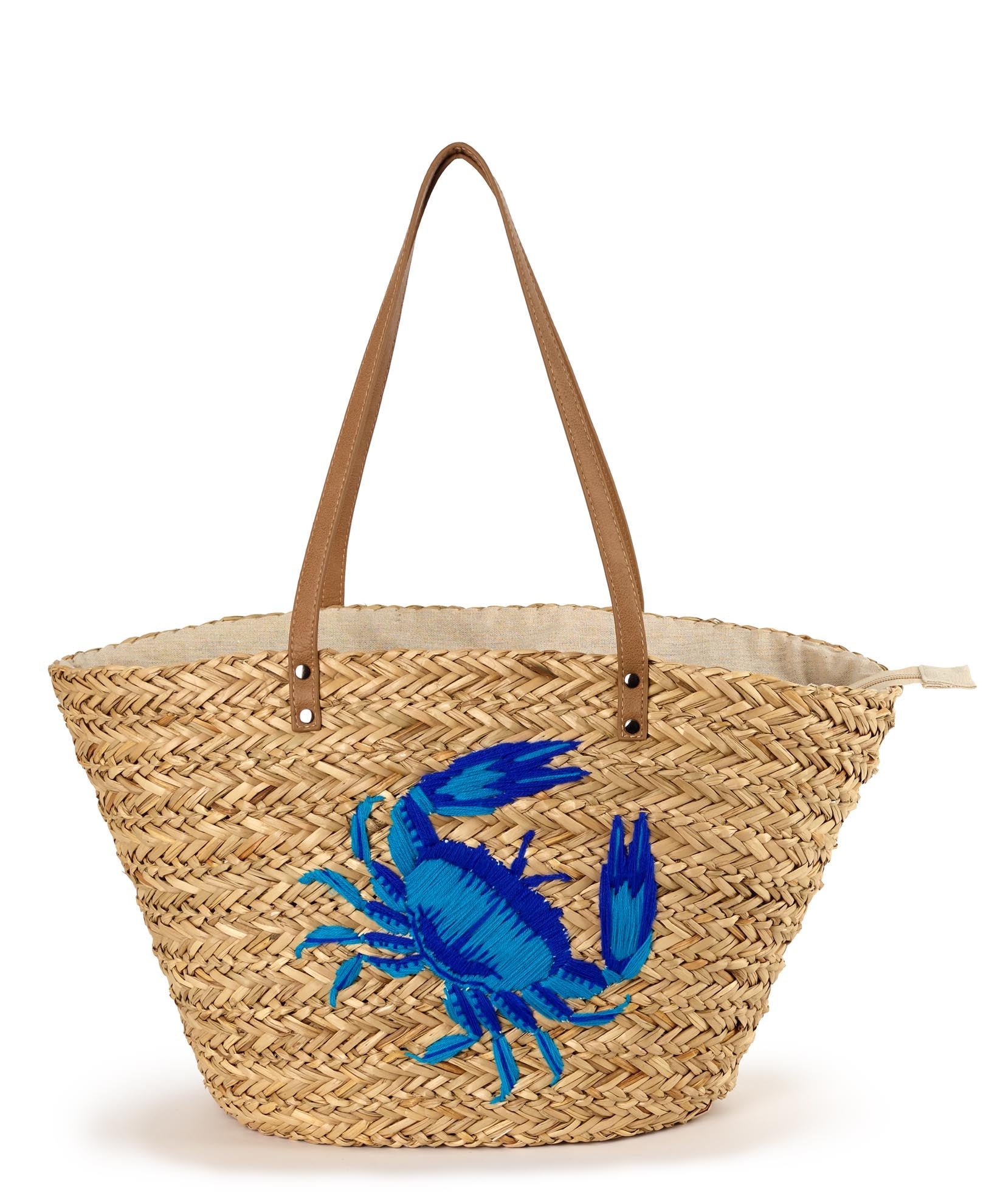 Azure - Under The Sea Straw Bag