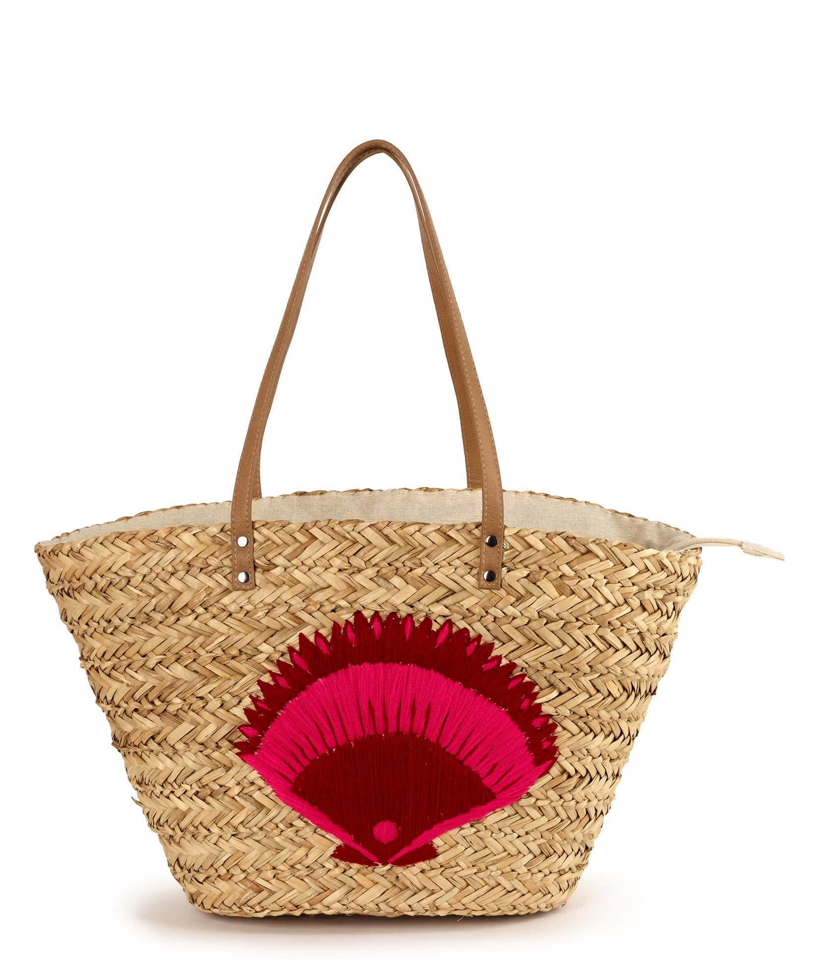 Crimson - Under The Sea Straw Bag