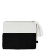 Black - Terry Cloth Bikini Bag
