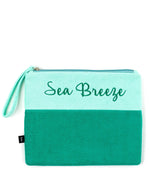 Tasman Sea - Terry Cloth Bikini Bag