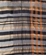 Black - Sheer Stripe Wrap