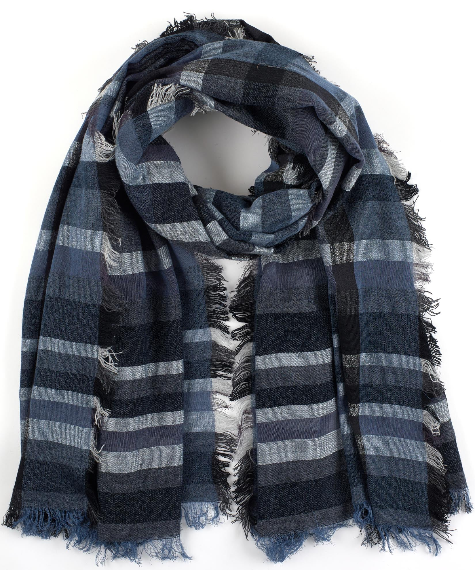 Maritime Navy - Sheer Stripe Wrap