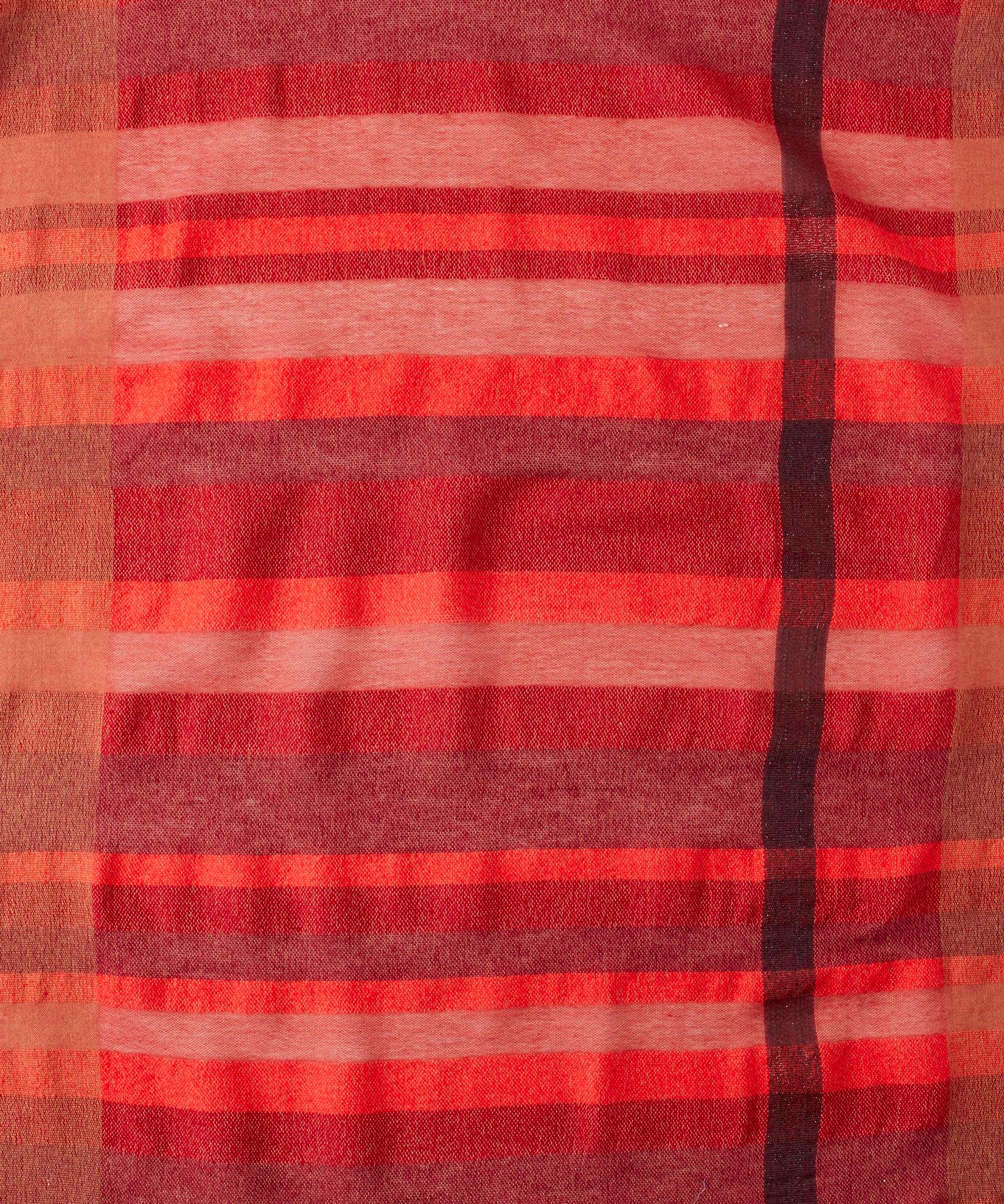 Currant - Sheer Stripe Wrap