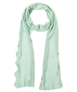 Aquamarine - Scallop Edge Skinny