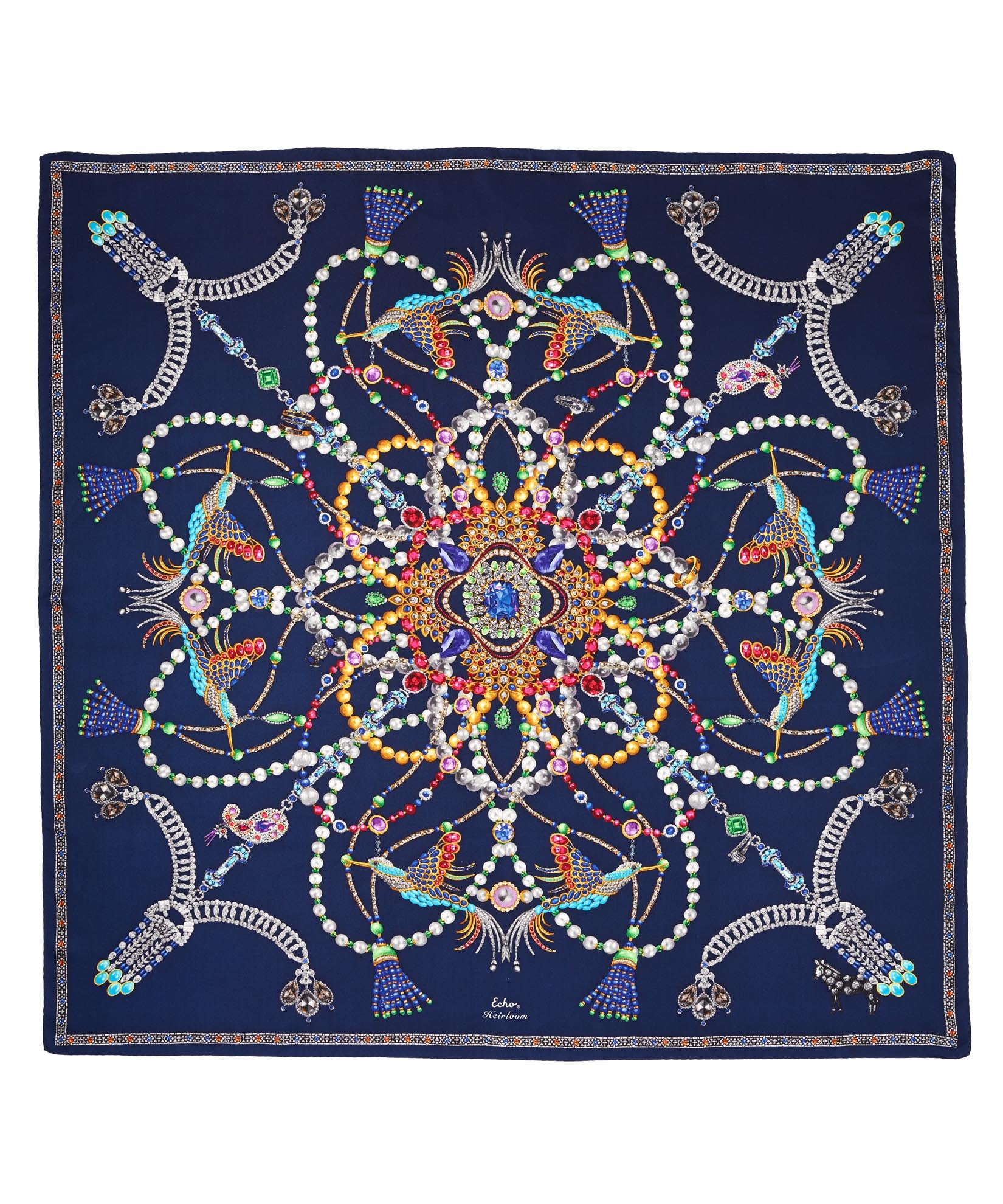 Maritime Navy - Heirloom Silk Series