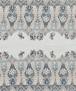 Whitecap - Sea Fan Paisley Silk Oblong