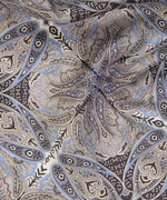 Black - Jaipur Paisley Silk Oblong