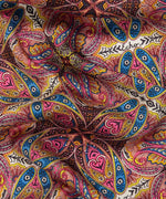 Multi - Jaipur Paisley Silk Oblong