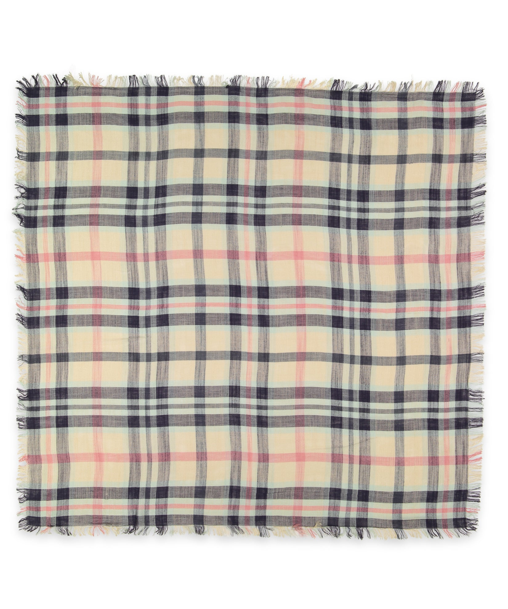 Chai - Goa Plaid Square