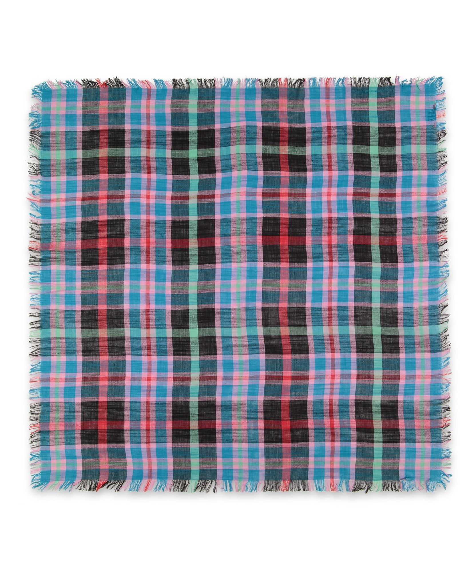 Multi - Goa Plaid Square