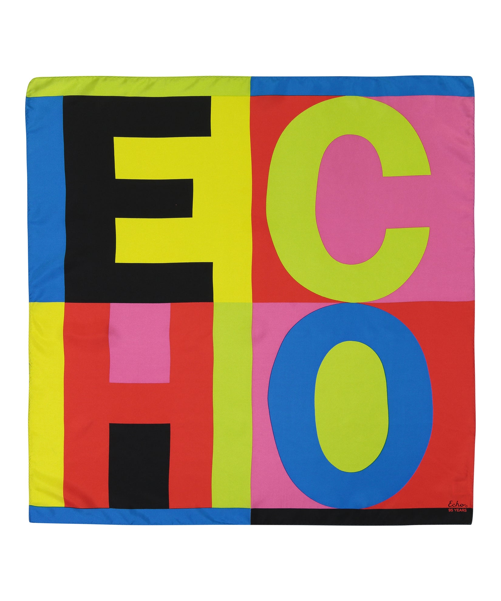 Multi - Echo Echo Silk Square