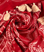 Ruby Red - Patchwork Oblong