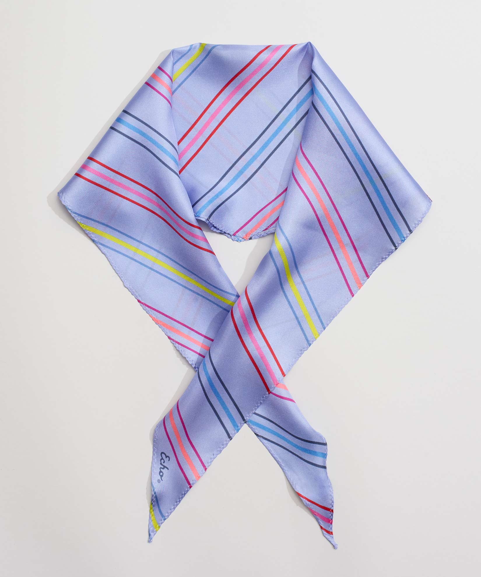 Iris - Pin Stripe Silk Diamond