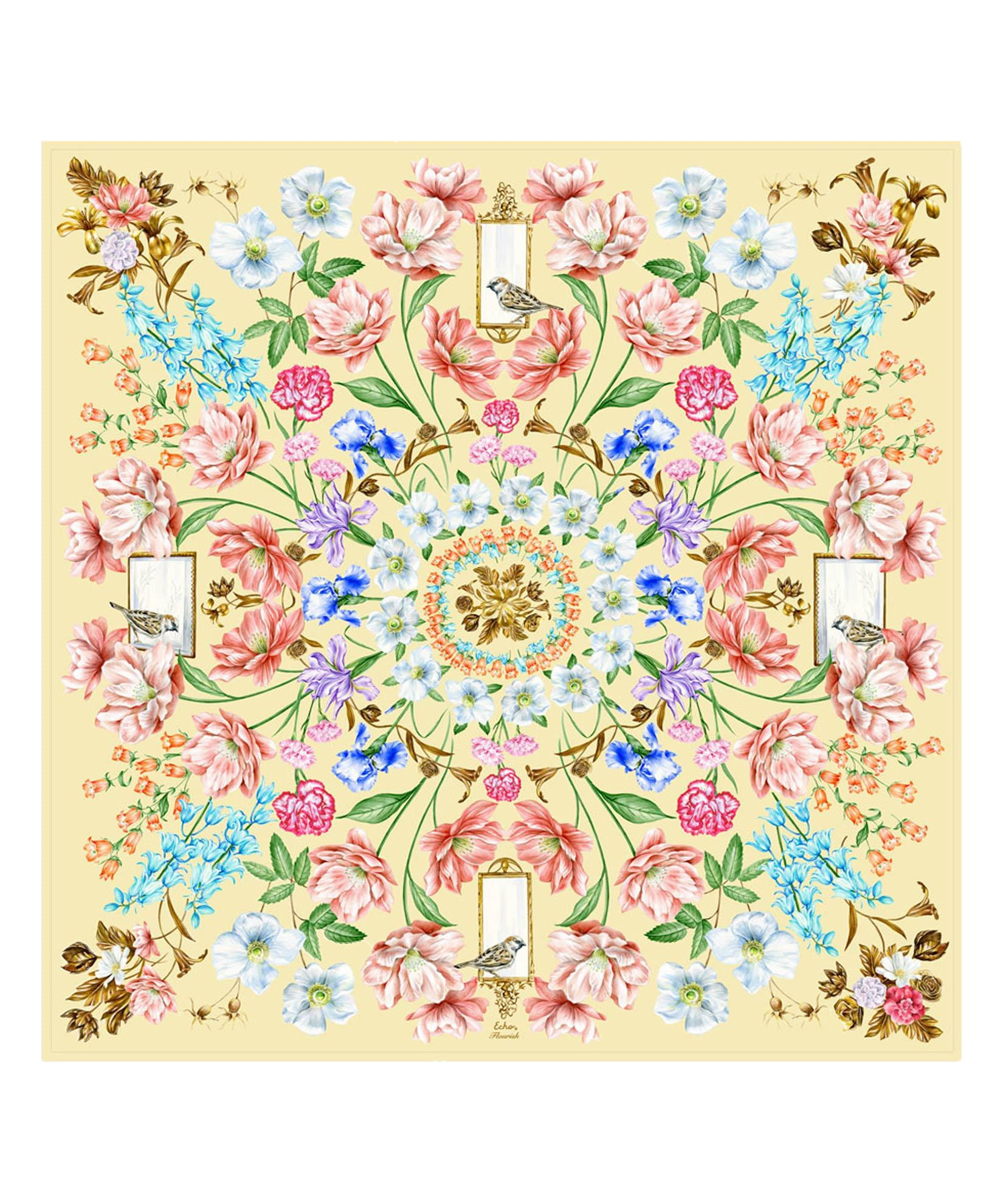 Banana - Flourish Silk Square