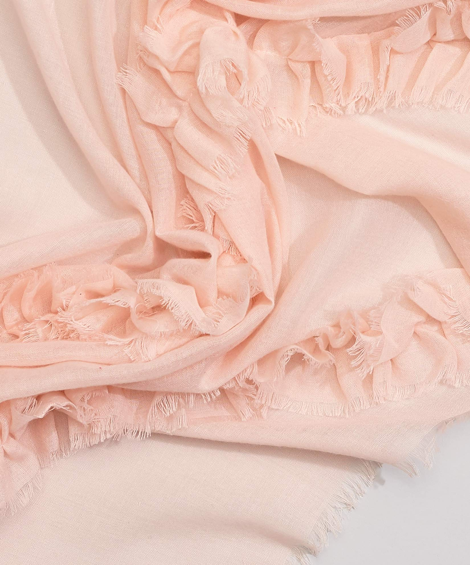Cambon Coral - Ruffle Oblong