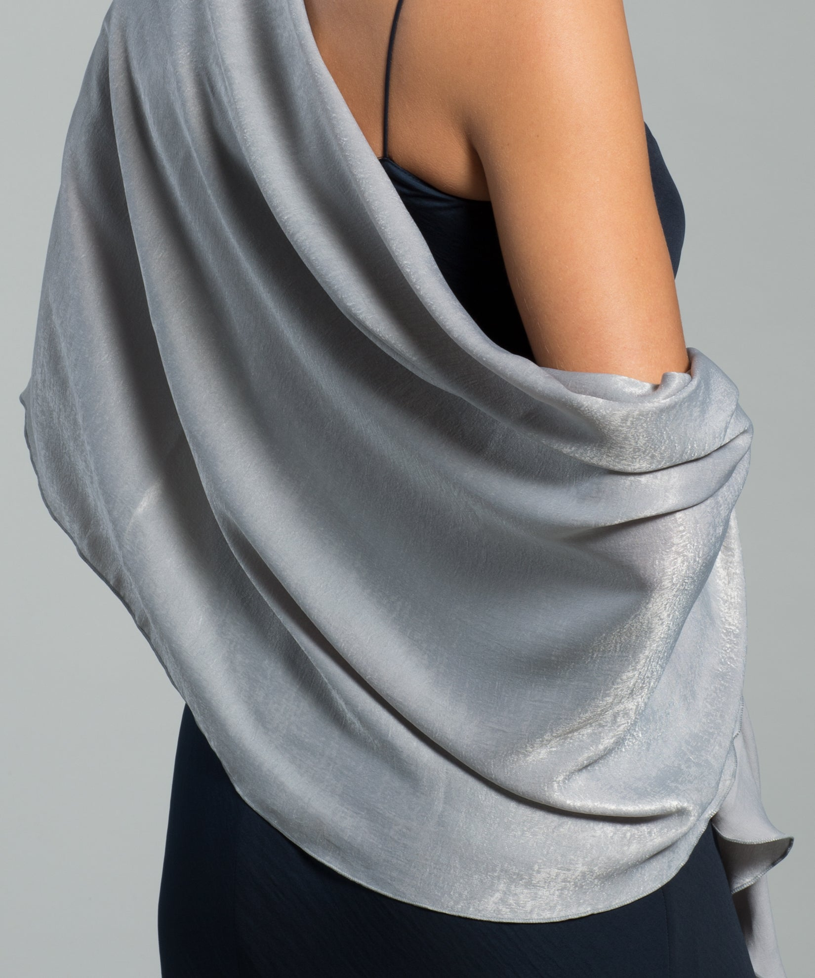Echo Silver - Stole With Curly Edge