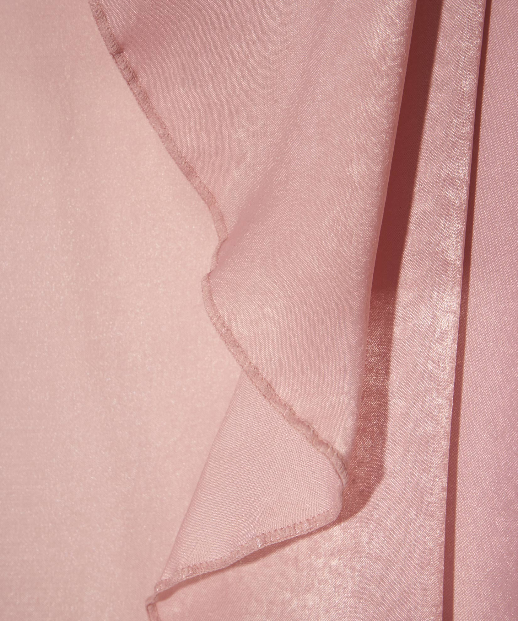 Blush - Stole With Curly Edge