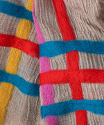 Multi - Felted Stripe Oblong