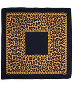 Black - Cheetah Status Square