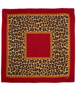 Crimson - Cheetah Status Square