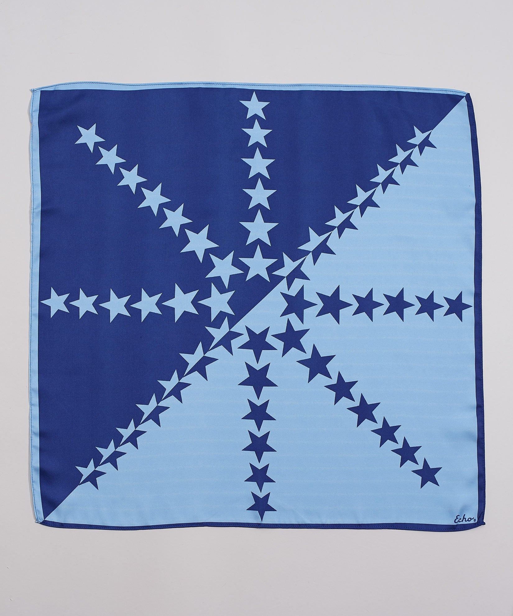 Navy - Star Square