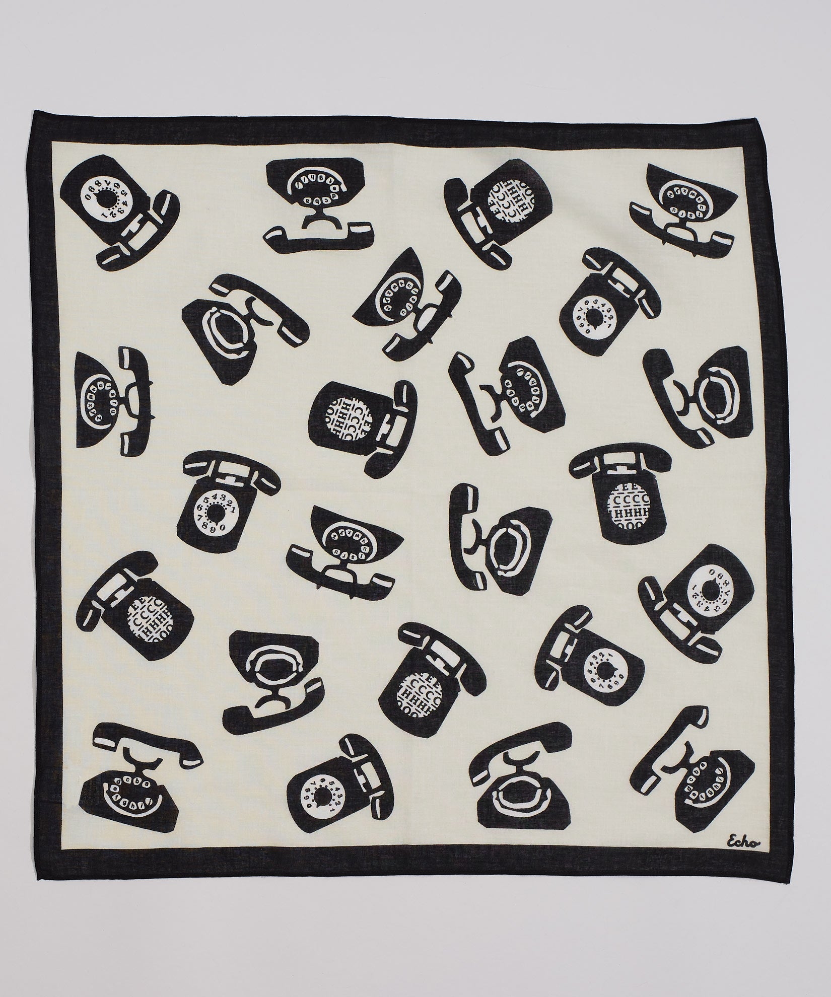 White - Ring Ring Bandana