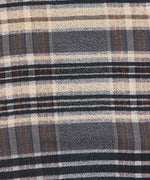 Black - Textured Plaid Oblong