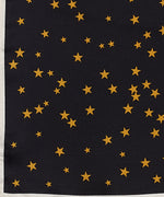 Black - Night Sky Silk Square