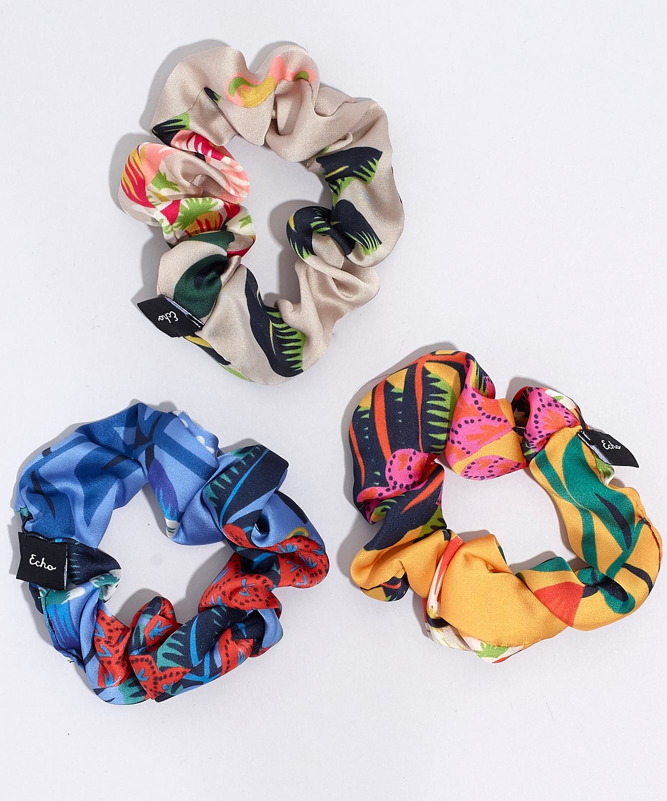 Tigerlily - 3-Pack Small Scrunchie Set