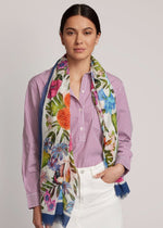 Multi - Tropical Botanic Pareo Wrap