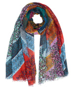 Multi - Patchwork Ditsy Wrap