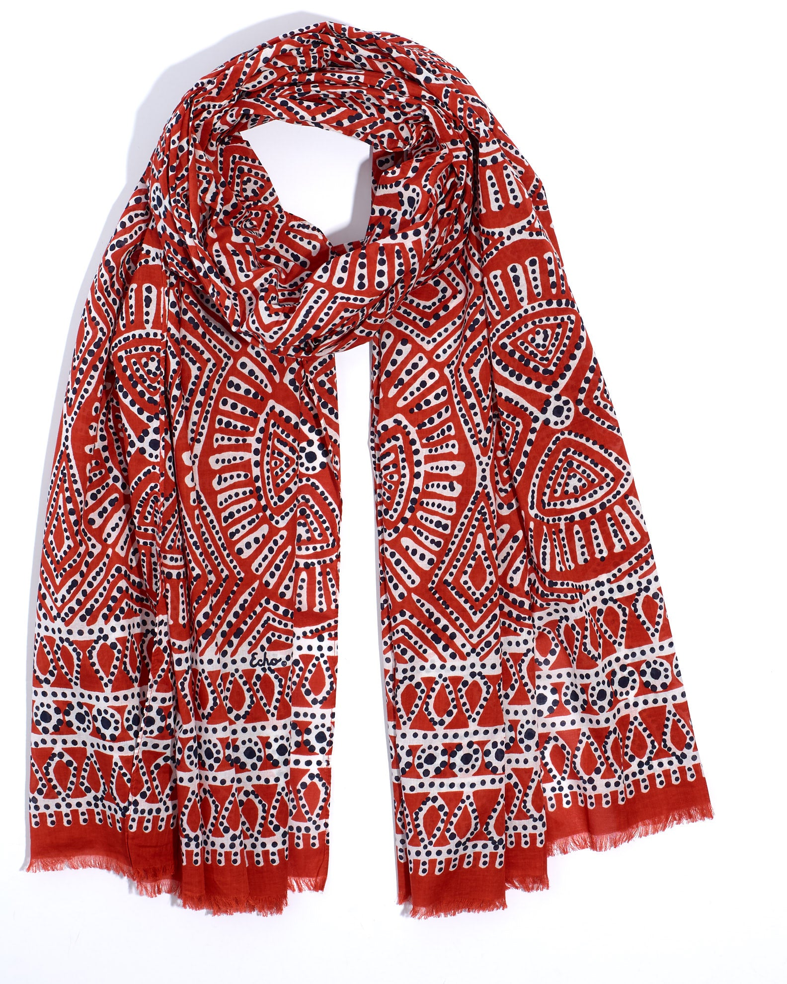 Chili - Batik Medallion Wrap
