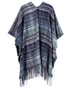 Echo Charcoal - Lofty Plaid Ruana