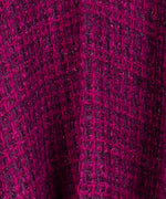 Indian Rose - Lurex Tweed Ruana