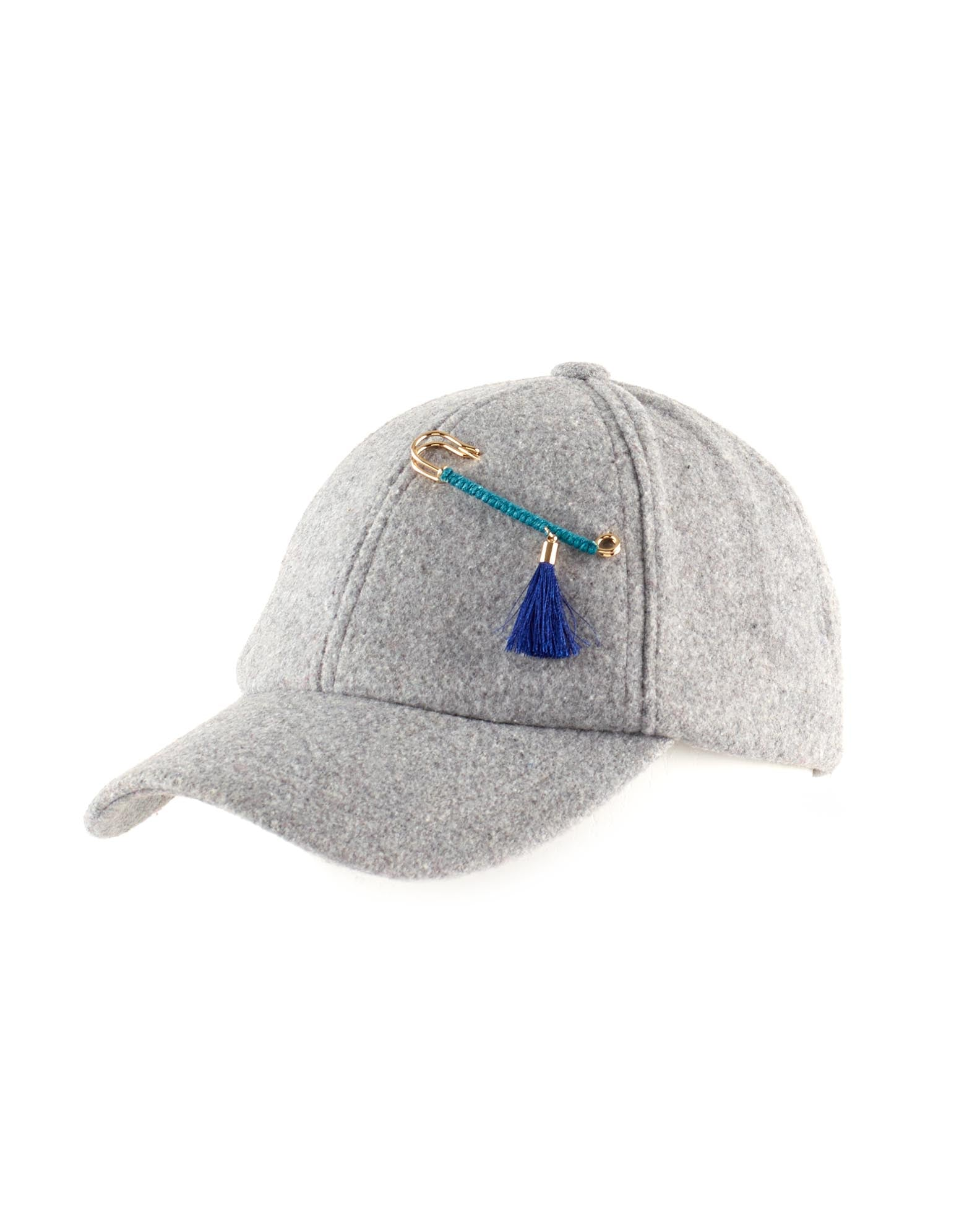 Summit Grey - Solid Baseball Hat