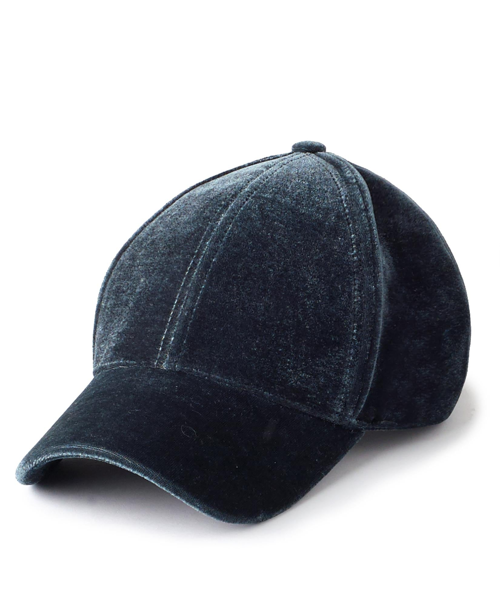 Heather Grey - Velvet Baseball Cap
