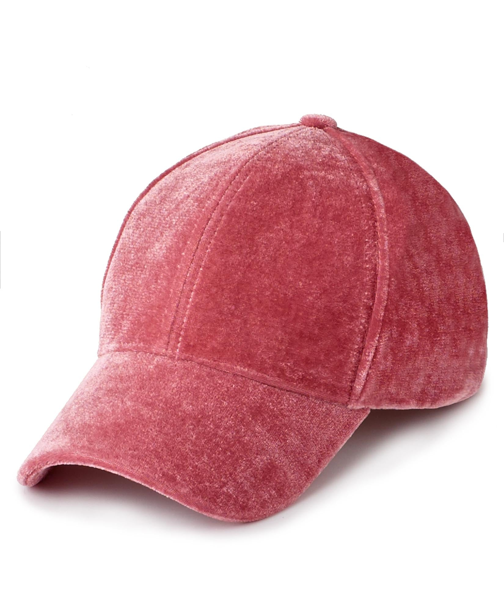 Deep Blush - Velvet Baseball Cap